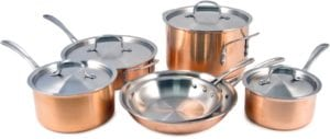 Calphalon T10 Tri-Ply Copper 10 Piece Set