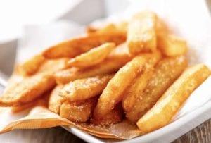 Deep fried potato