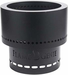 HY-C FG-16 Flame Genie Portable Smoke-Free Wood Pellet Fire Pit