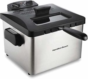 Hamilton Beach Professional Grade Electric Deep Fryer