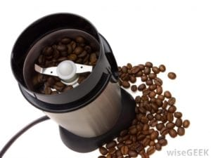 knife type coffee grinder