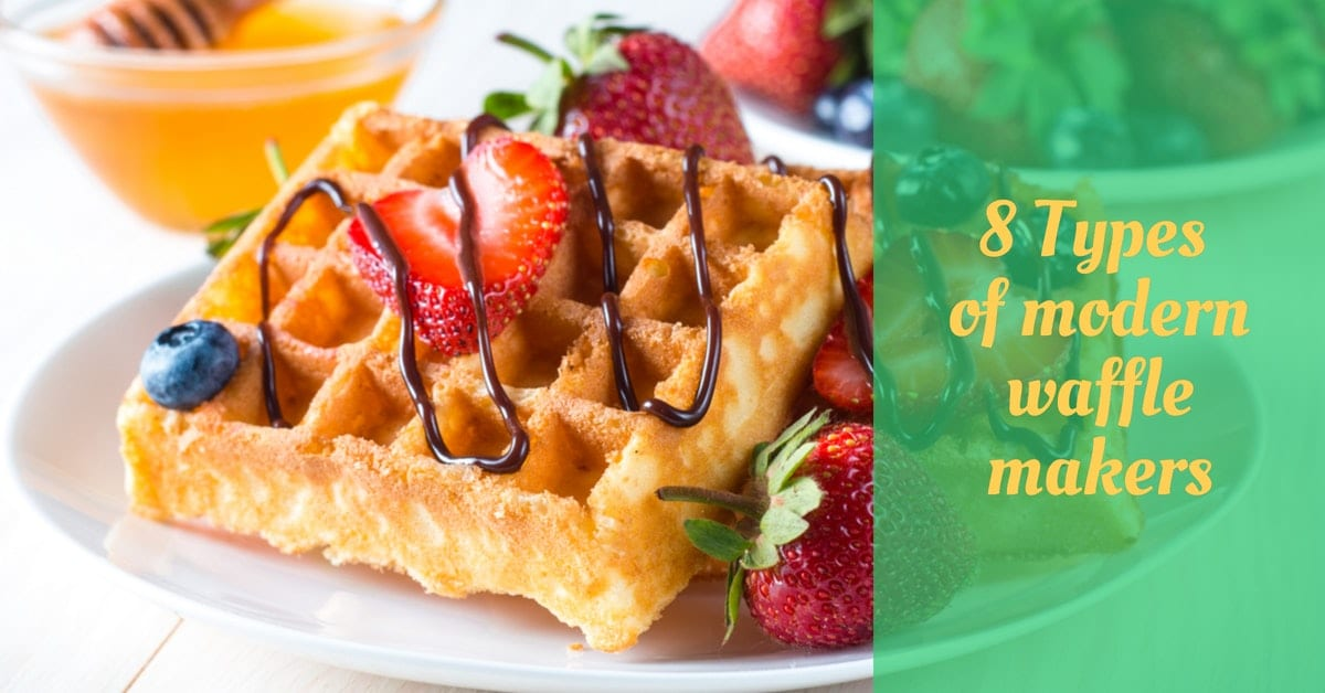 types of waffle makers