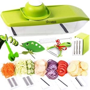 Adjustable Mandoline Slicer Stainless Steel