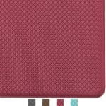 Color&Geometry Kitchen Rug Non Skid Waterproof Kitchen Mat