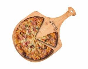 Frederica Trading Premium Bamboo Wooden Pizza Peel