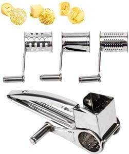 LOVKITCHEN Stainless Steel Cheese Grater
