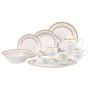 Lorenzo Amelia 57-Piece Dinnerware Set