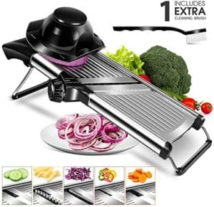 Mandoline Food Slicer Adjustable
