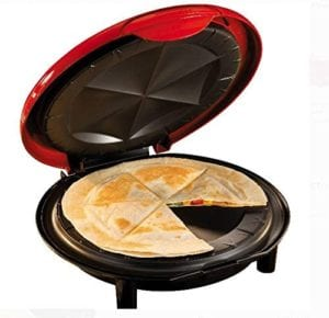 Nostalgia Electrics 8-Inch Electric Quesadilla & Tortilla Maker