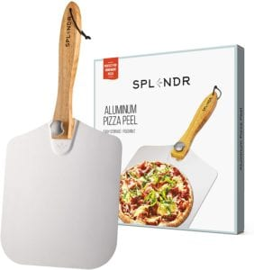 SPLENDR Aluminum Metal Pizza Peel