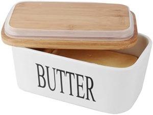 SZUAH Porcelain Butter Dish