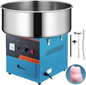 VBENLEM Electric Candy Floss Maker 20.5 Inch Cotton Candy Machine