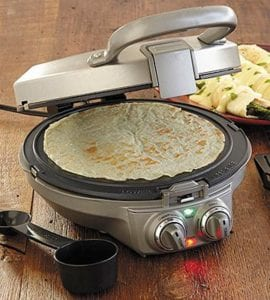closed crepe maker