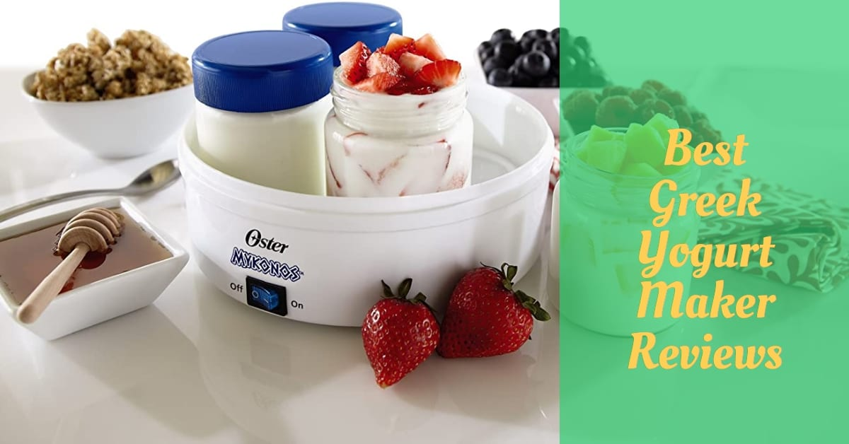 greek yogurt maker