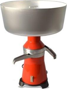 metal milk separator