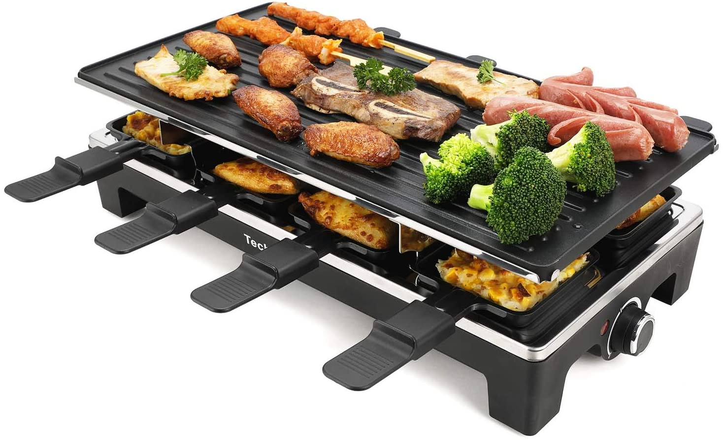 techwood smokeless grill with High Density Granite Grill Stone