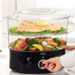 BELLA (13872) 7.4 Quart Healthy Food Steamer