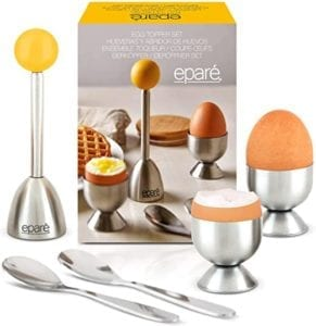Eparé Egg Cracker Topper Set
