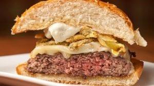 Medium Well burger
