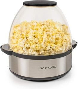 Nostalgia SP660SS 6-Quart Stirring Popcorn Popper