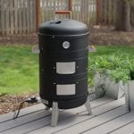 Electric Smoker & Grill Combos