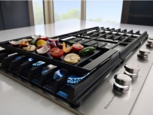 Gas Cooktops With Griddle