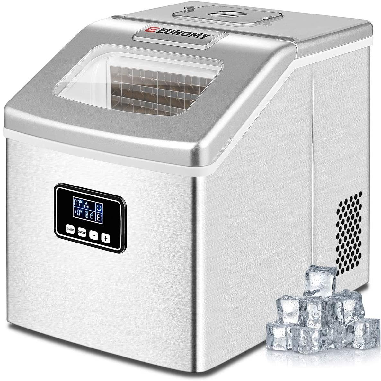 Euhomy Ice Maker Machine Countertop