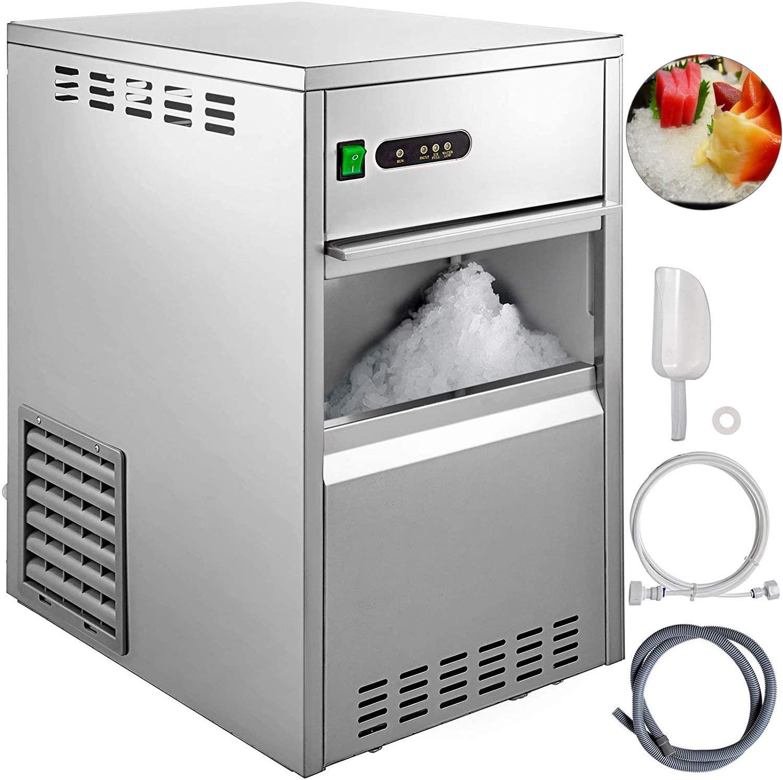 VBENLEM 55LBS 24H Snowflake Ice Maker