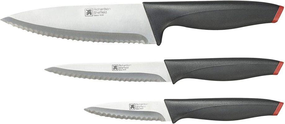 Richardson Sheffield Laser 3 Piece Knife Starter Set