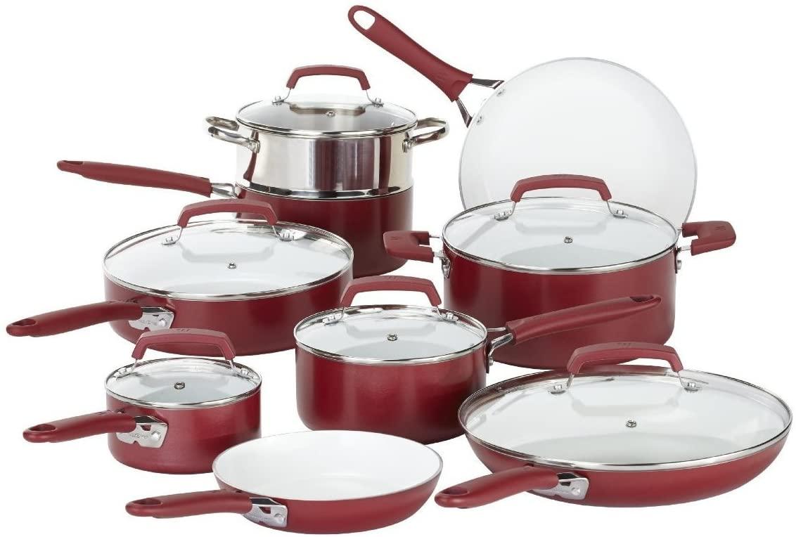 WearEver Ceramic Nonstick Cookware Set